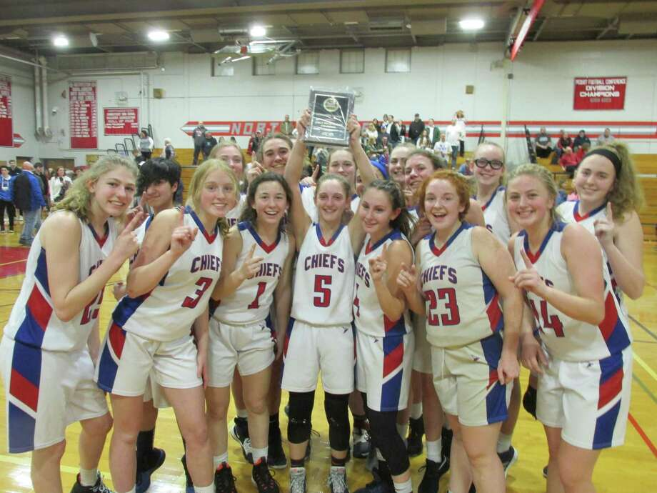 Nonnewaug completed a clean sweep of both the regular-season and tournament Berkshire League crowns with a win over Northwestern Friday night at Northwestern High School. Photo: Peter Wallace / For Hearst Connecticut Media