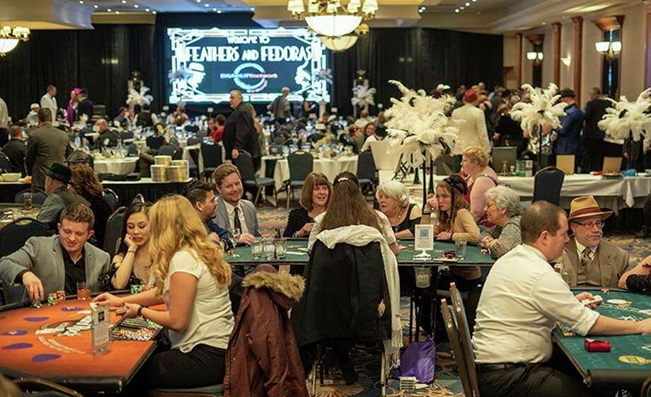 A community of nearly 240 supporters came out for the Disability Network of Mid-Michigan's (DNMM) fourth annual Feathers and Fedoras fundraiser. (Photo provided)