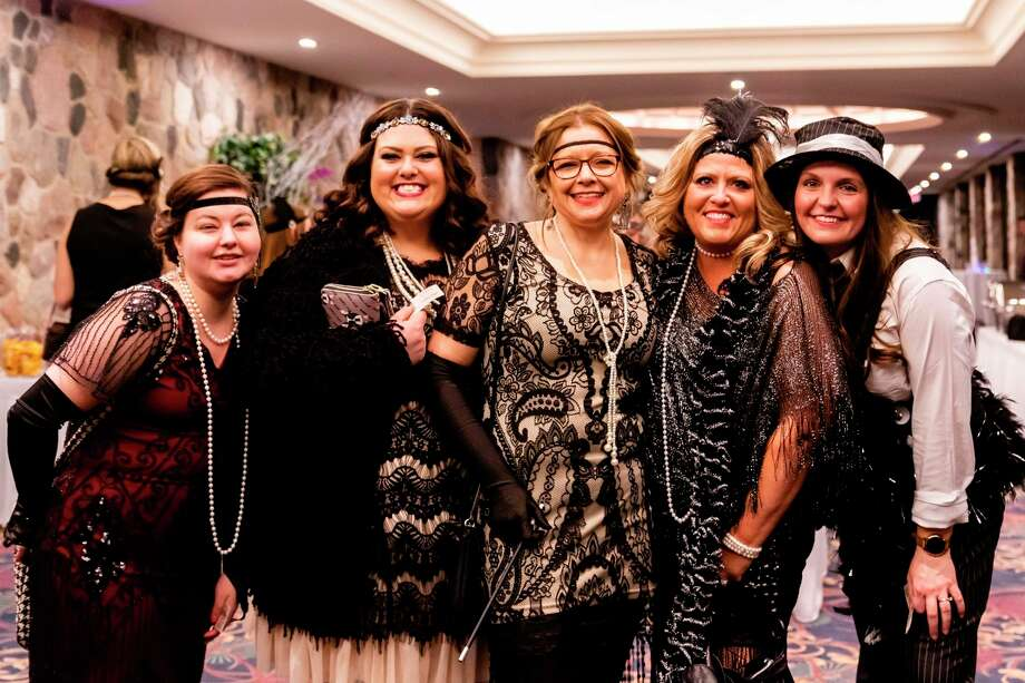 """Mom Prom is a massive annual """"girls' night out,"""" with proceeds from this year's event supporting the mission of Family & Children's Services of Mid-Michigan, which provides youth services and pregnancy and post-pregnancy programs.(Cody Scanlan/for the Daily News)"""