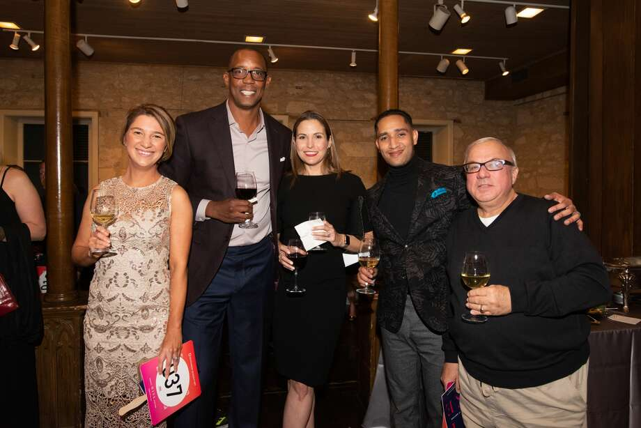San Antonians made their way to the Southwest School of Art for the Benefit Wine Auction on Friday, February 28, 2020. Photo: Aiessa Ammeter