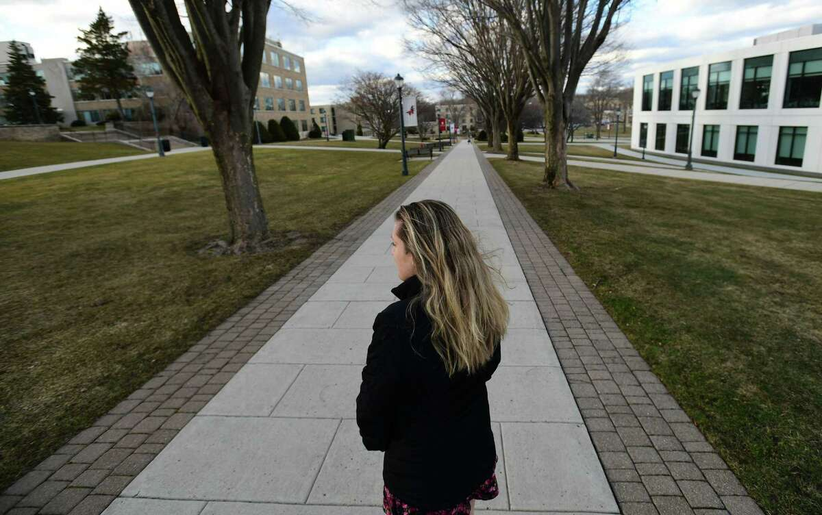 Hannah Lawlor, a Fairfield University junior, claims she was sexually assaulted on campus during her freshman year. During a Title IX investigation and in its aftermath, she felt the school did not properly handle her complaint.
