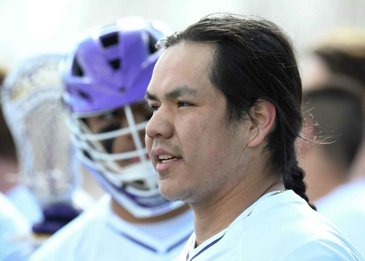 UAlbany senior Tehoka Nanticoke leads the Danes with 19 goals this season. He was dismissed from the team Wednesday. Nanticoke said on social media that it was a group decision that is best for him and the team.