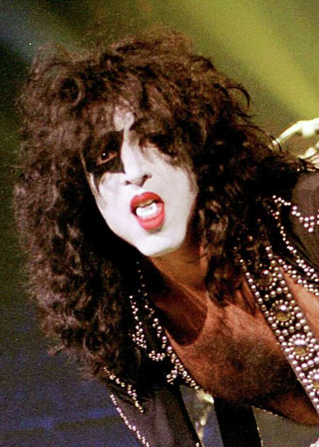 Singer Paul Stanley performs during the KISS Farewell tour at the Molson Center in Montreal in this June 22, 2000, file photo.  (AP Photo/Pascale Simard, File) Photo: PASCALE SIMARD / CP