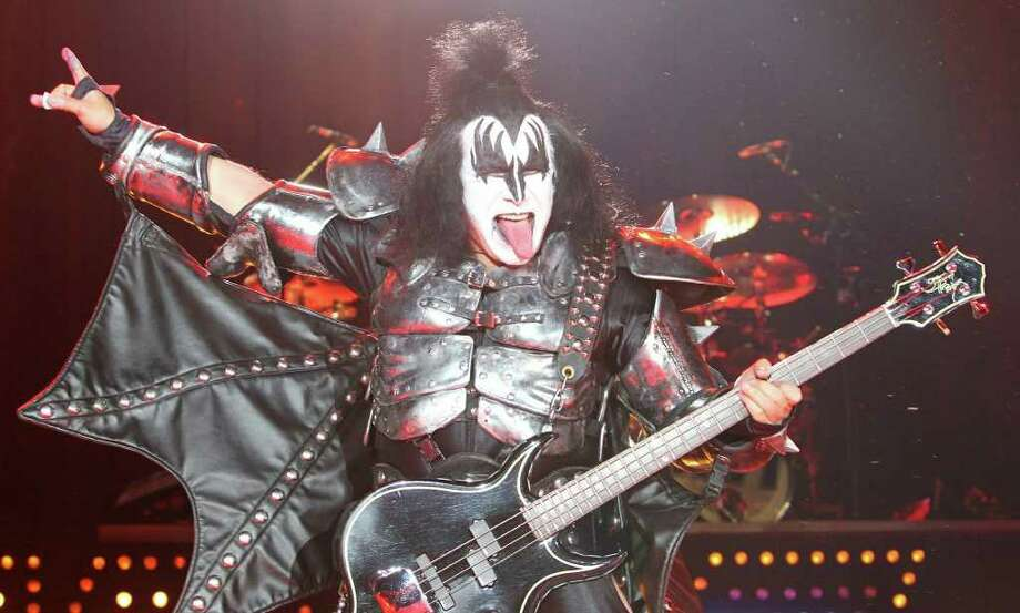 Gene Simmons of Kiss performs on stage on May 25, 2010 in Leipzig, eastern Germany. (Sebastian Wilinow / Getty Images) Photo: SEBASTIAN WILLNOW / DDP