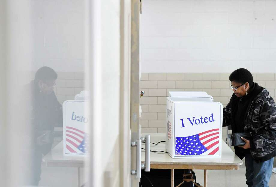 Claudia Craft votes at a polling place in Columbia, S.C., on Saturday. Photo: Washington Post Photo By Matt McClain / The Washington Post