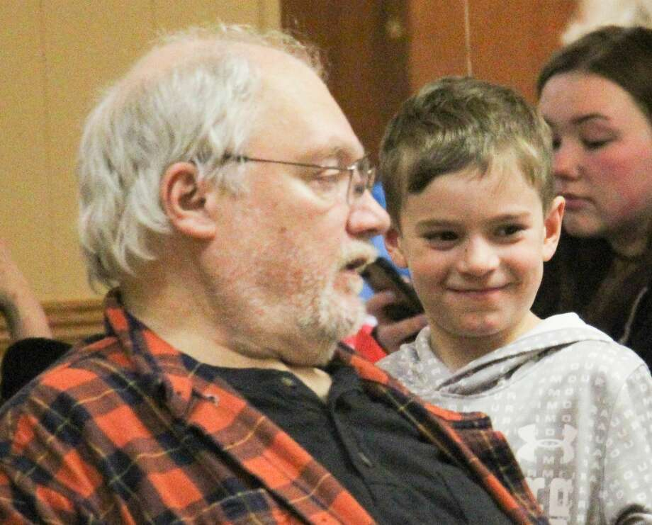 Caseville Public Schools held a Leap Year party fundraiser in Saturday at the Caseville Eagles Club. Proceeds will pay for student field trips. Photo: Mark Birdsall/Huron Daily Tribune