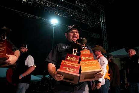 Fayette County Go Texan takes homes the biggest prizes of the 2020 Houston Livestock Show and Rodeo's World's Championship Bar-B-Que Contest at NRG Park on Saturday, Feb. 29, 2020.