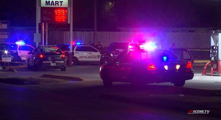 A spate of shootings over a 12-hour period in Houston left two men dead and several more wounded, according to police. Photo: On Scene TV