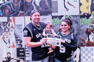 San Antonians cheered on the Spurs playing against the Orlando Magic on Saturday, February 29, 2020 at the AT&T Center.