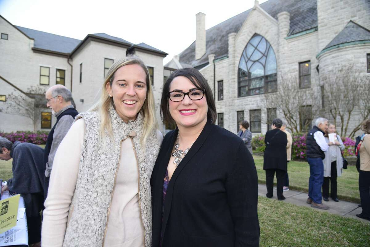 The iconic Tyrrell Historical Library was the site the Beaumont Heritage Society's Heritage Happy Hour Feb. 27, 2020. Our cameras were there. Were you?