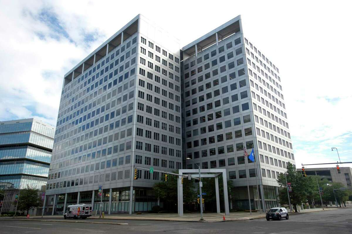 Charter Communications has acquired its headquarters building at 400 Atlantic St., in downtown Stamford, Conn., for $100 million.