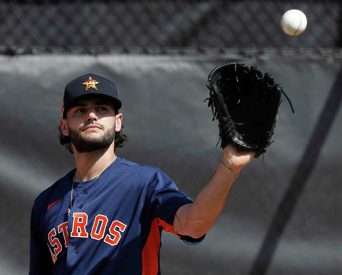 """Lance McCullers Jr. will represent the Astros in Major League Baseball's first-ever """"MLB The Show"""" Players League."""