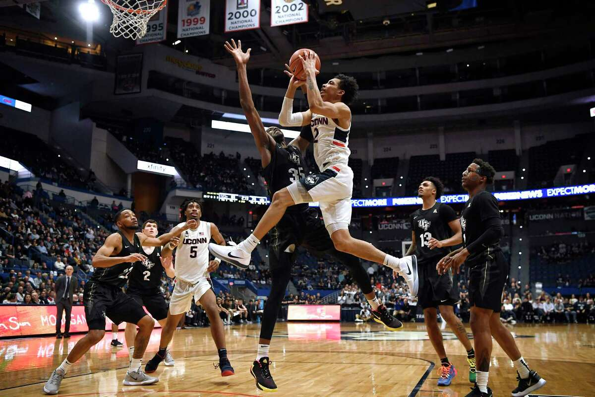A pair of NBA scouts said they think UConn's James Bouknight would benefit from another year at the college level.