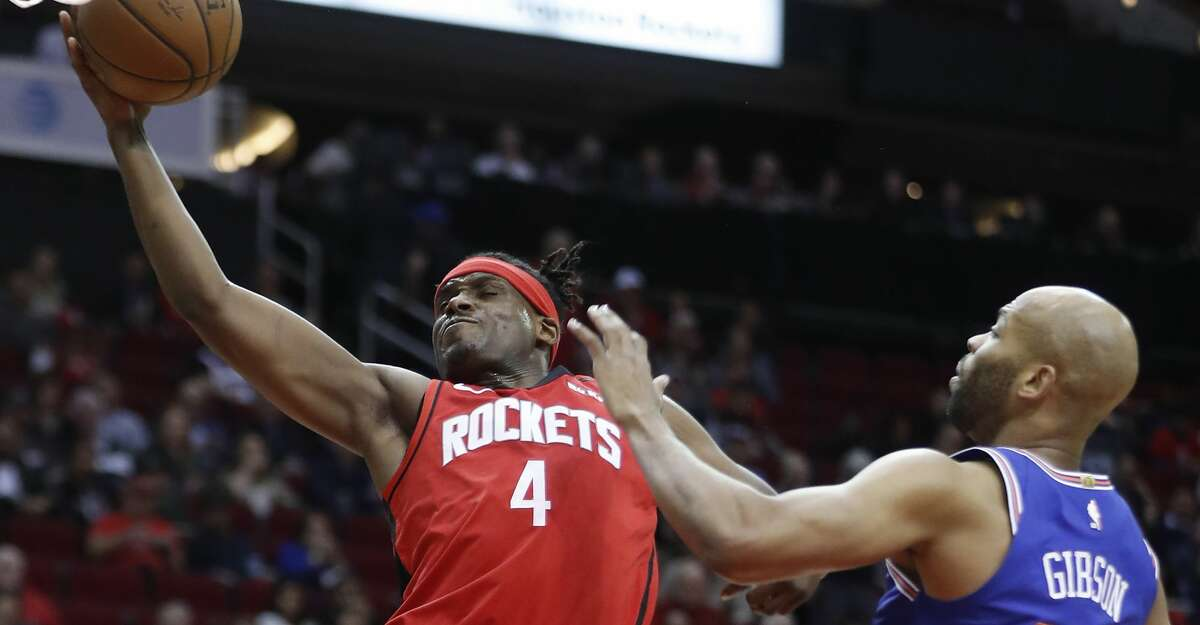 """Despite a new coaching staff, Rockets forward Danuel House Jr. said """"the schemes are pretty much the same"""" on defense."""