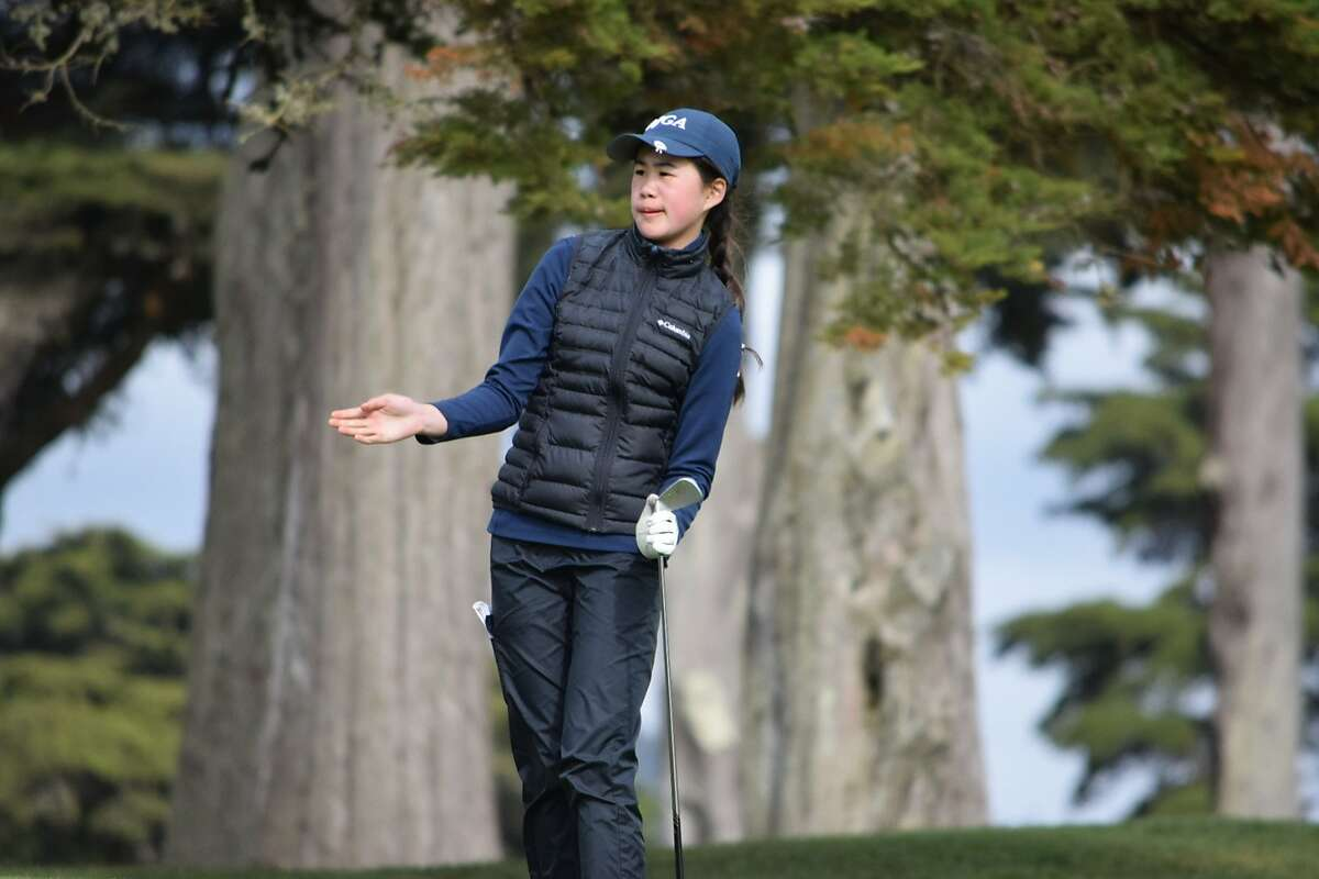 Emily Hou, playing in her first San Francisco City Championship, won the title Sunday at TPC Harding Park, beating Andrea Gomez 3-and-2.