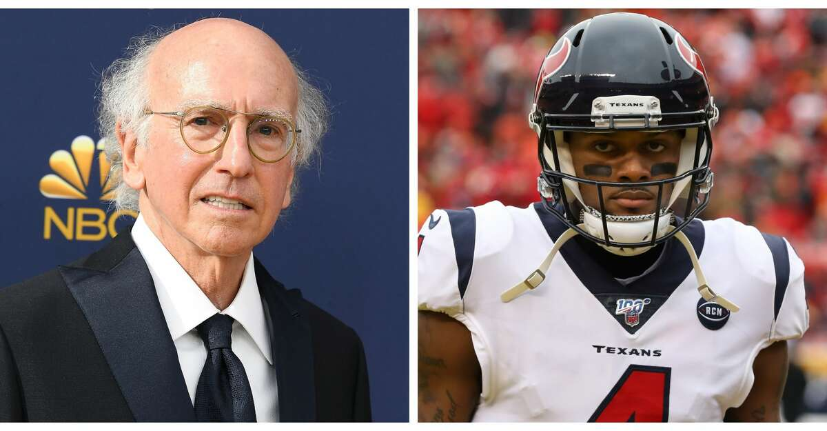 Larry David referenced Deshaun Watson in an episode of Curb Your Enthusiasm.