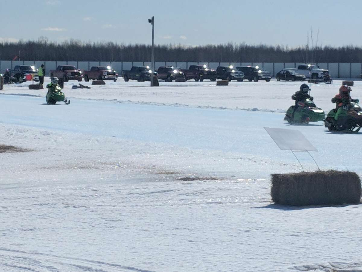 The annual Gladwin County Vintage Snowmobile races Saturday drew racers and spectators of all ages from all over the state as well as Wisconsin, Indiana and Minnesota. Racers competed in 27 heats. Some first-time visitors noted ow impressed they were with the quality of the race and the track at the Gladwin County Fairground.