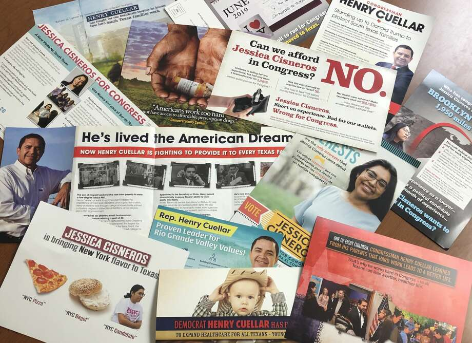 Laredoans have received stacks of campaign mailers over the last few weeks as the primary candidates for the 28th Congressional District have kicked into high gear. Photo: Cuate Santos/Laredo Morning Times