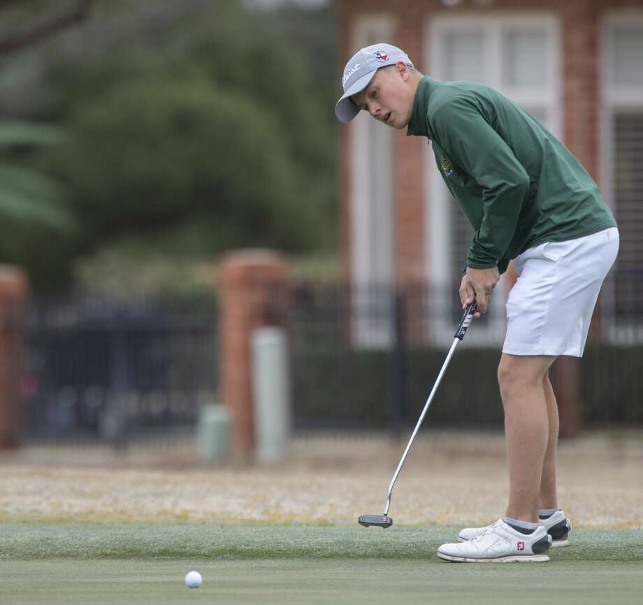 Midland College's Jo Hacker follows his putt 03/02/2020 at Green Tree Country Club during the TankLogix/Green Tree Invitational. Tim Fischer/Reporter-Telegram Photo: Tim Fischer/Midland Reporter-Telegram
