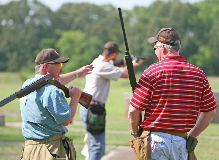 A trap and skeet shooting competition Photo: File Photo / Staff photo by Eric S. Swist