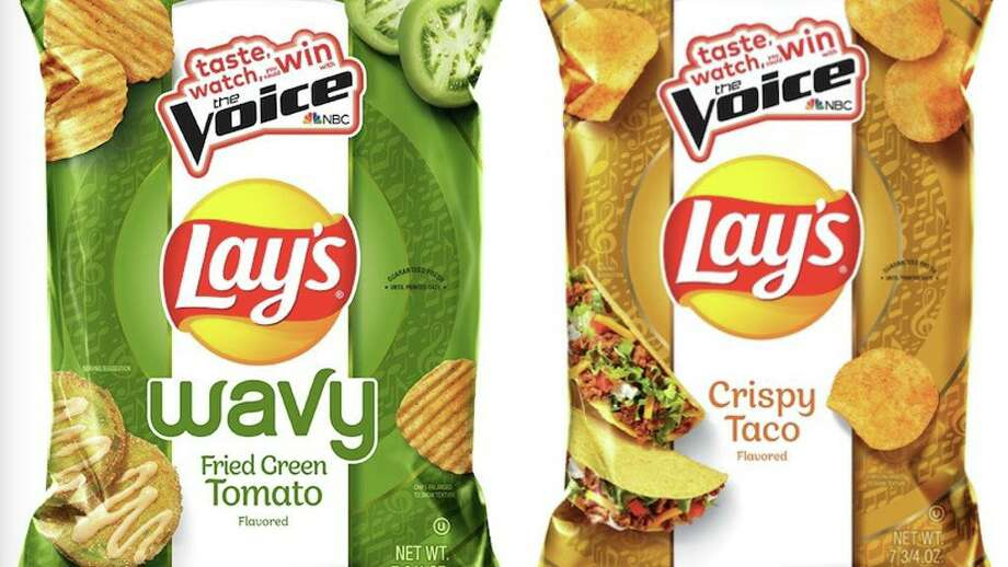Lay's is reintroducing two flavors of chips — Wavy Fried Green Tomato and Crispy Taco — this week. San Antonio resident Ellen Sarem won $1 million in a 2017 Lay's contest by suggesting the flavor. Photo: Lay's