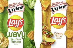 Lay's is reintroducing two flavors of chips — Wavy Fried Green Tomato and Crispy Taco — this week. San Antonio resident Ellen Sarem won $1 million in a 2017 Lay's contest by suggesting the flavor.
