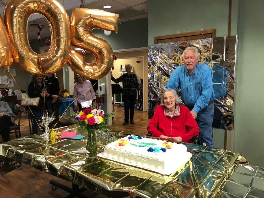 Birthday party: Bubba Sullivan and Millie Haynes Photo: Courtesy Photo