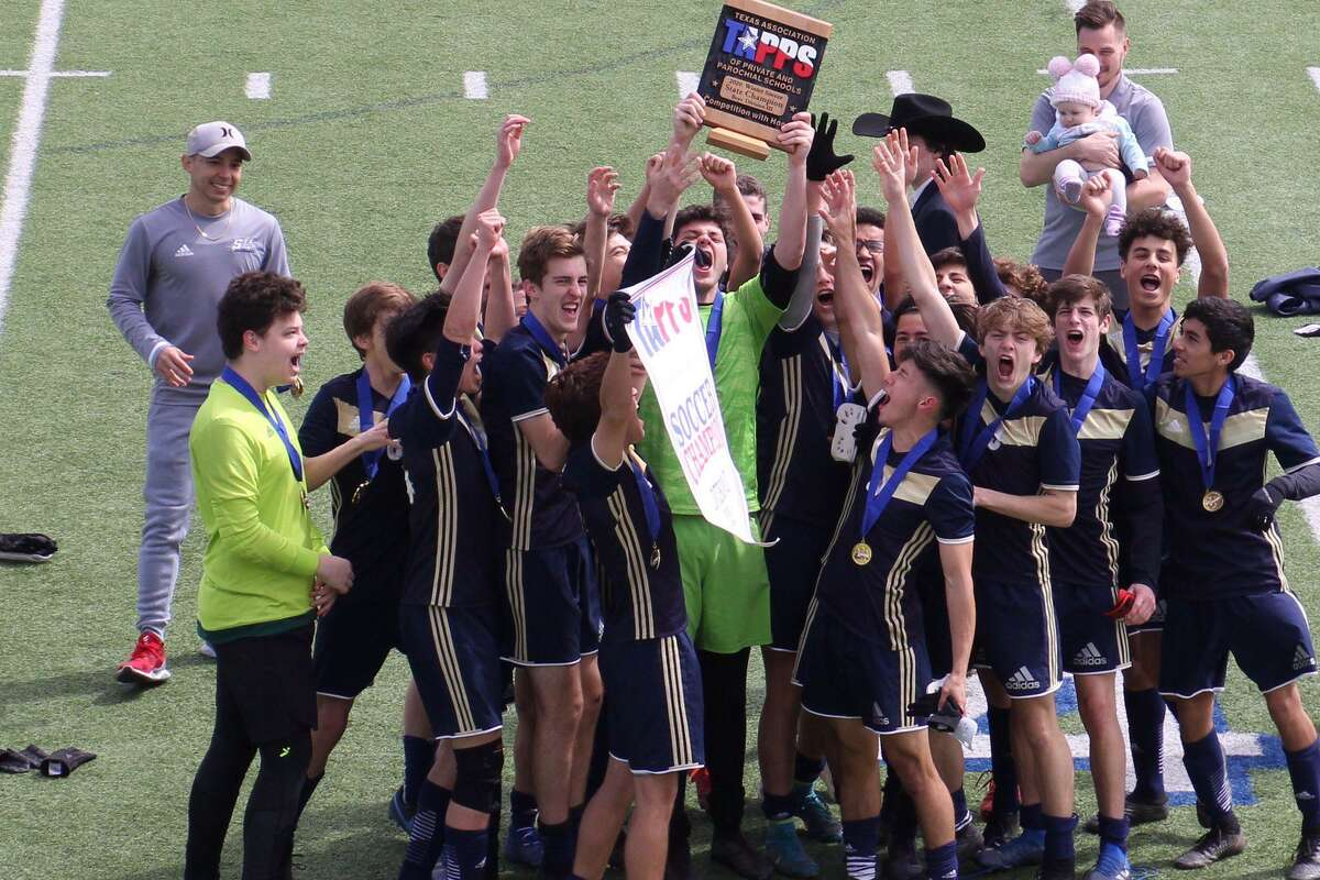 The St. Thomas Episcopal boys soccer team repeated as TAPPS Division III state champions with a 1-0 victory against Dallas Covenant. The Saints won the fifth state title in school history.