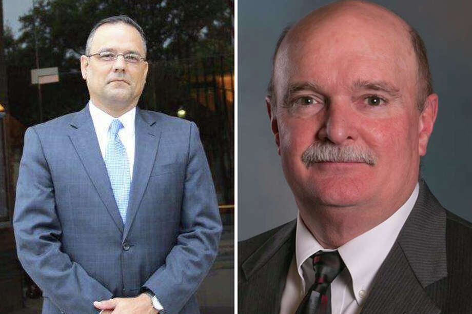 "Laredo City Council will meet this week to interview the two finalists for the city manager position, Robert Eads (left) and Samuel ""Keith"" Selman. Photo: Courtesy"