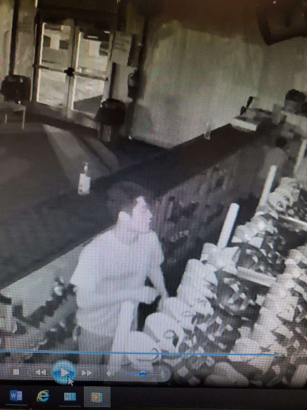 Police are asking the public for help in identifying these young men who sneaked into the Mill River Skating Rink last week.