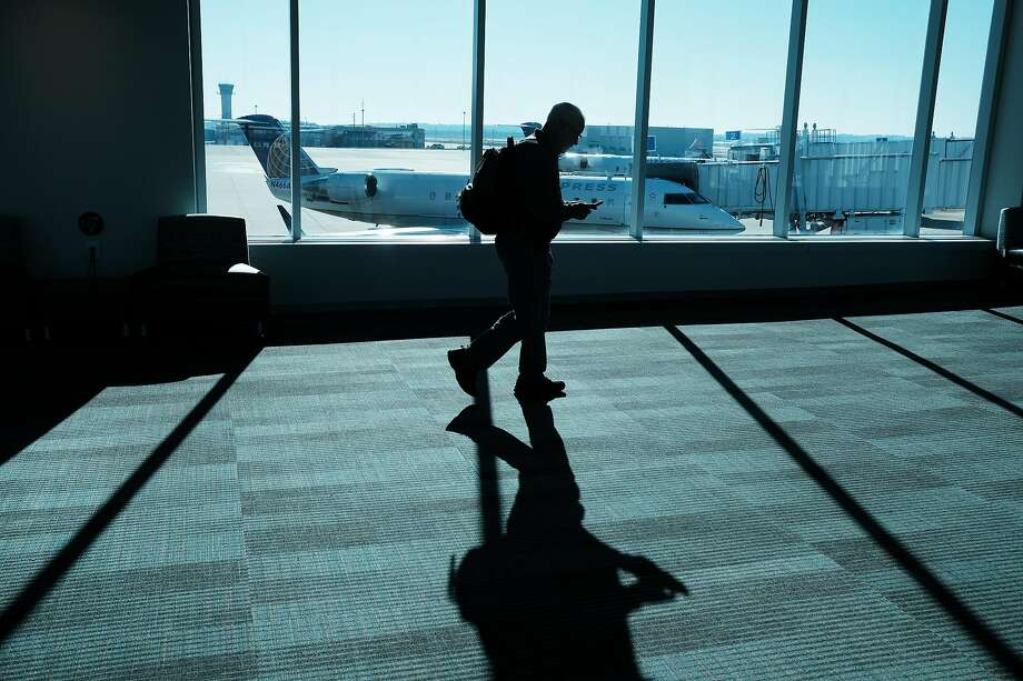 A person walks through a South Carolina airport on March 01, 2020 in Columbia, South Carolina. (Photo by Spencer Platt/Getty Images) Photo: Spencer Platt / Getty Images