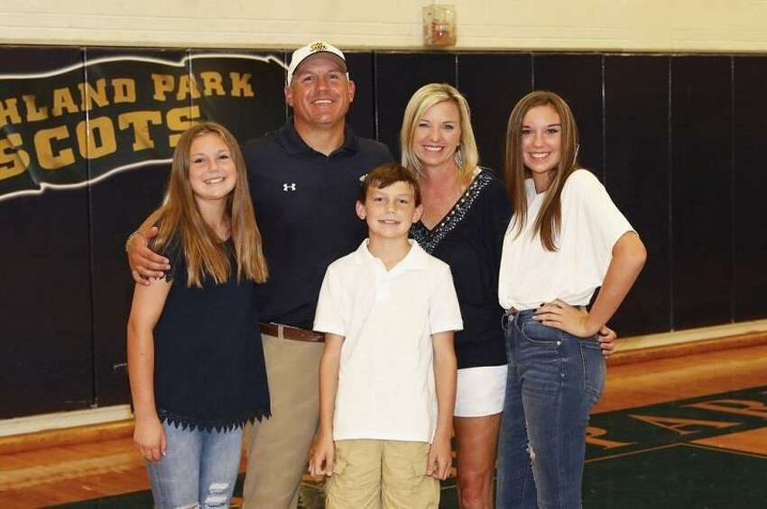 KingwoodOut: Barry CampbellIn: Cale Melton (pictured with family)Melton comes from Highland Park, where he was defensive coordinator for its three straight state championships from 2016-18. Campbell stepped down after six playoff appearances in eight seasons as the head coach to take a coordinator's job at Belton High School. Campbell's friend Brett Sniffen left Ridge Point to take the Belton head coaching job earlier in the year.