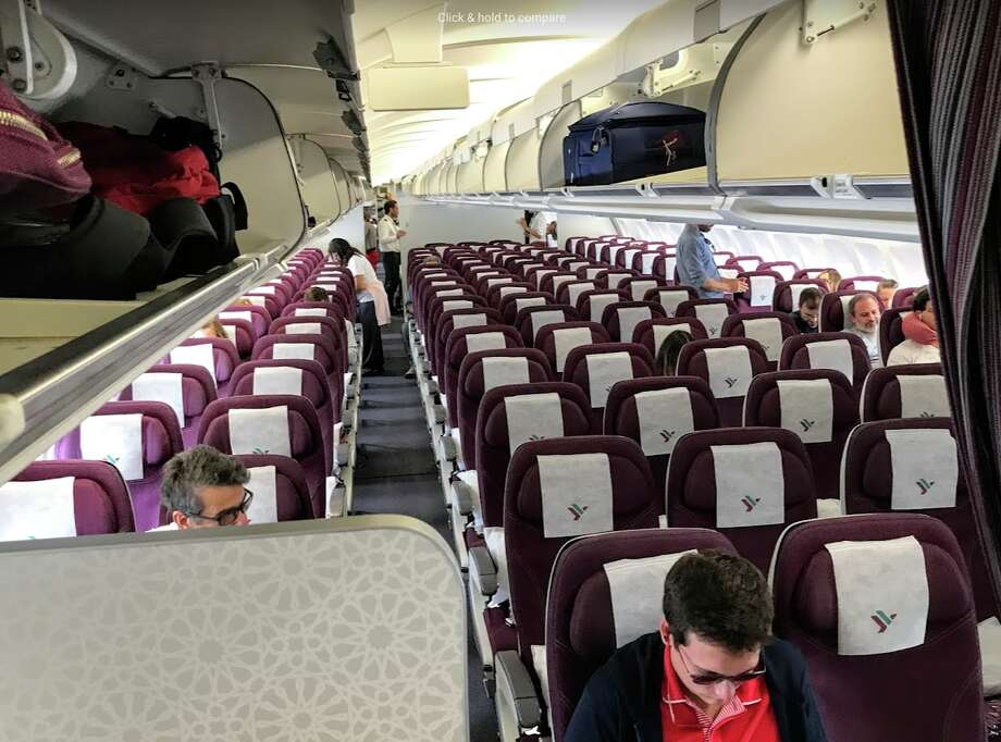 As demand for air travel plummets, passengers are increasingly likely to see empty seats. Photo: Chris McGinnis
