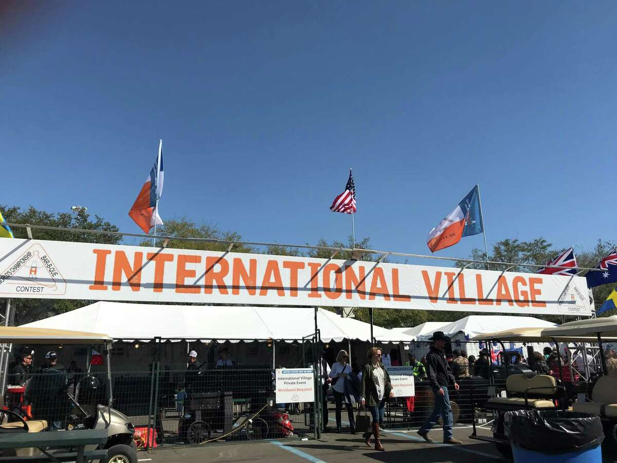 International Village was the home to barbecue teams from other countries invited to participate in the 2020 Houston Livestock Show and Rodeo's World's Championship Bar-B-Que Contest.