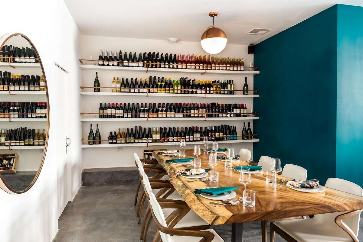 Merchant Roots seats eight people, for two dinner seatings per night, at�1365 Fillmore St., San Francisco.