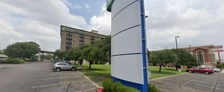 Saturday Feb. 29, 2020 2:53 p.m: The patient was dropped off by a third-party driver at the Holiday Inn Express at 91 N.E. Loop 410. The patient went into her room at 3:11 p.m. 5:13 p.m.: The patient went back to the hotel lobby and asked for a shuttle. The patient was picked up at 5:23 p.m.