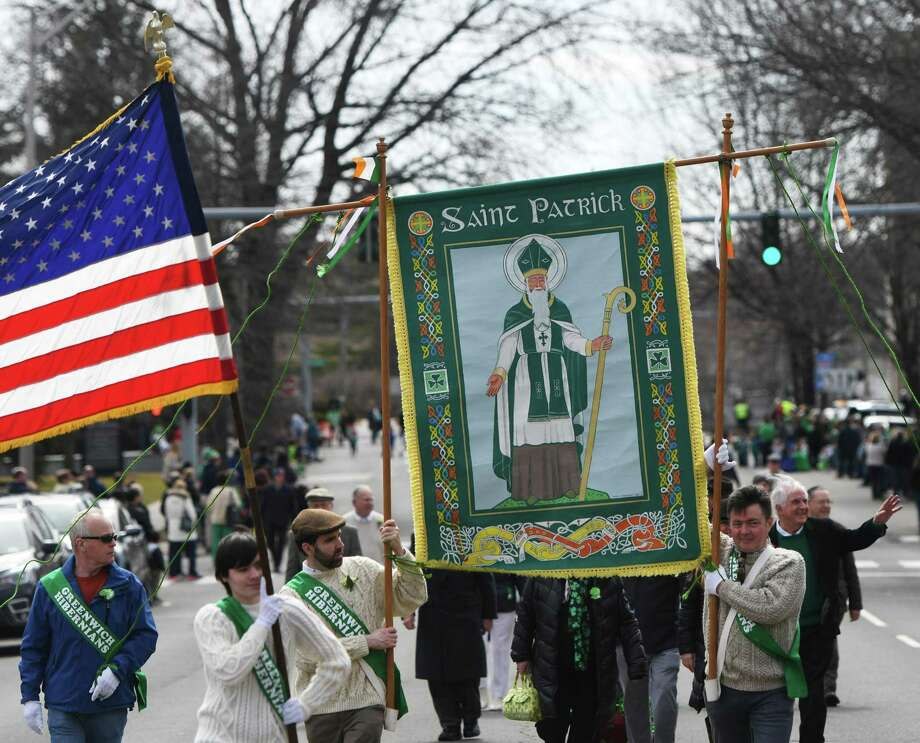 The Greenwich Hibernian Association will hold its annual dinner dance and installation of its 2020 Grand Marshal at 7 p.m. Saturday at The Red Men's Hall, 17 E. Elm St. The grand marshal for the St. Patrick's Day Parade — which will be on March 22 — is former First Selectman John Toner. For tickets to the dinner dance, contact Mary McNamee at mbmcnamee55@gmail.com. Photo: File / Tyler Sizemore / Hearst Connecticut Media / Greenwich Time