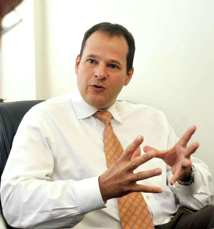 Dr. Raul Arguello talks about pediatrics at Danbury Hospital, Tuesday, Aug. 17, 2010.