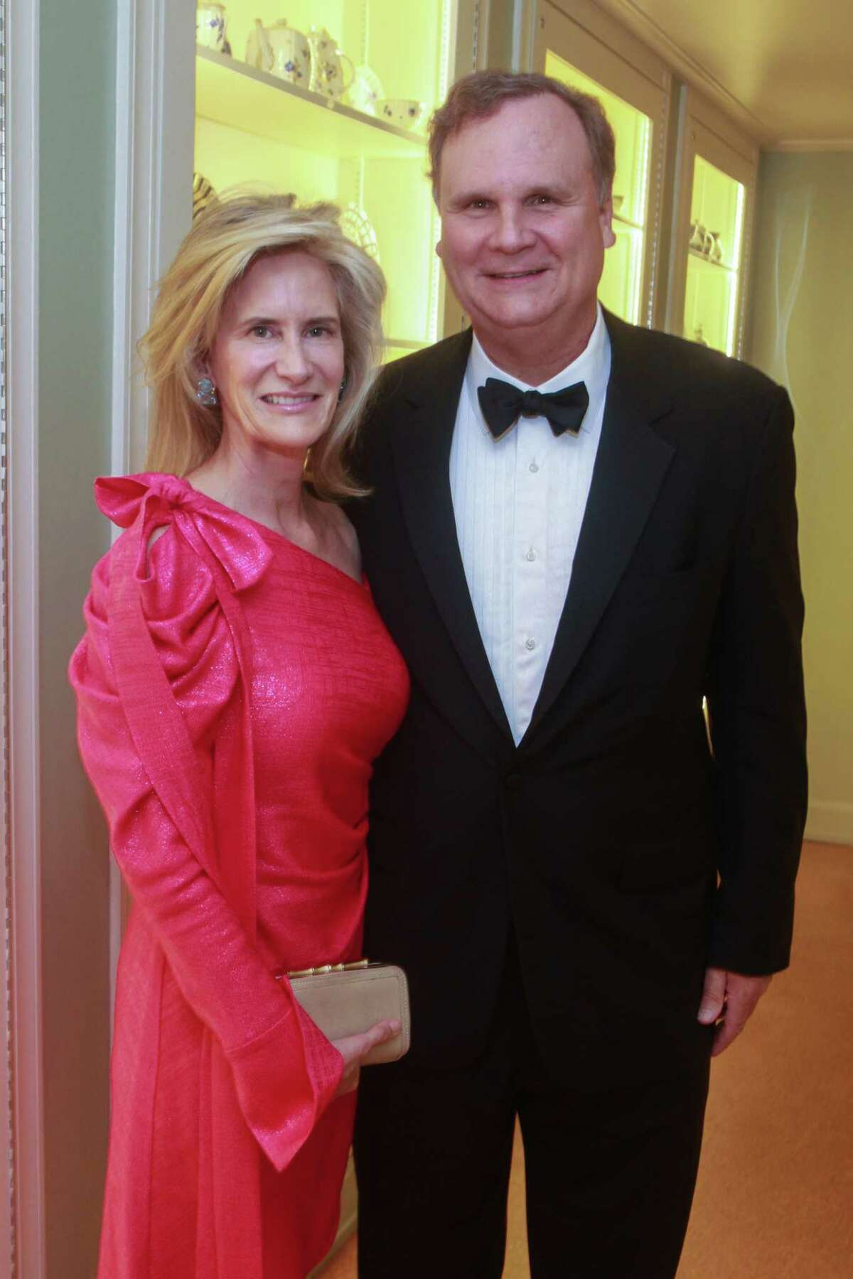 Meg and Nelson Murray at the Museum of Fine Arts, Houston's Rienzi Society Dinner in Houston on February 25, 2020.
