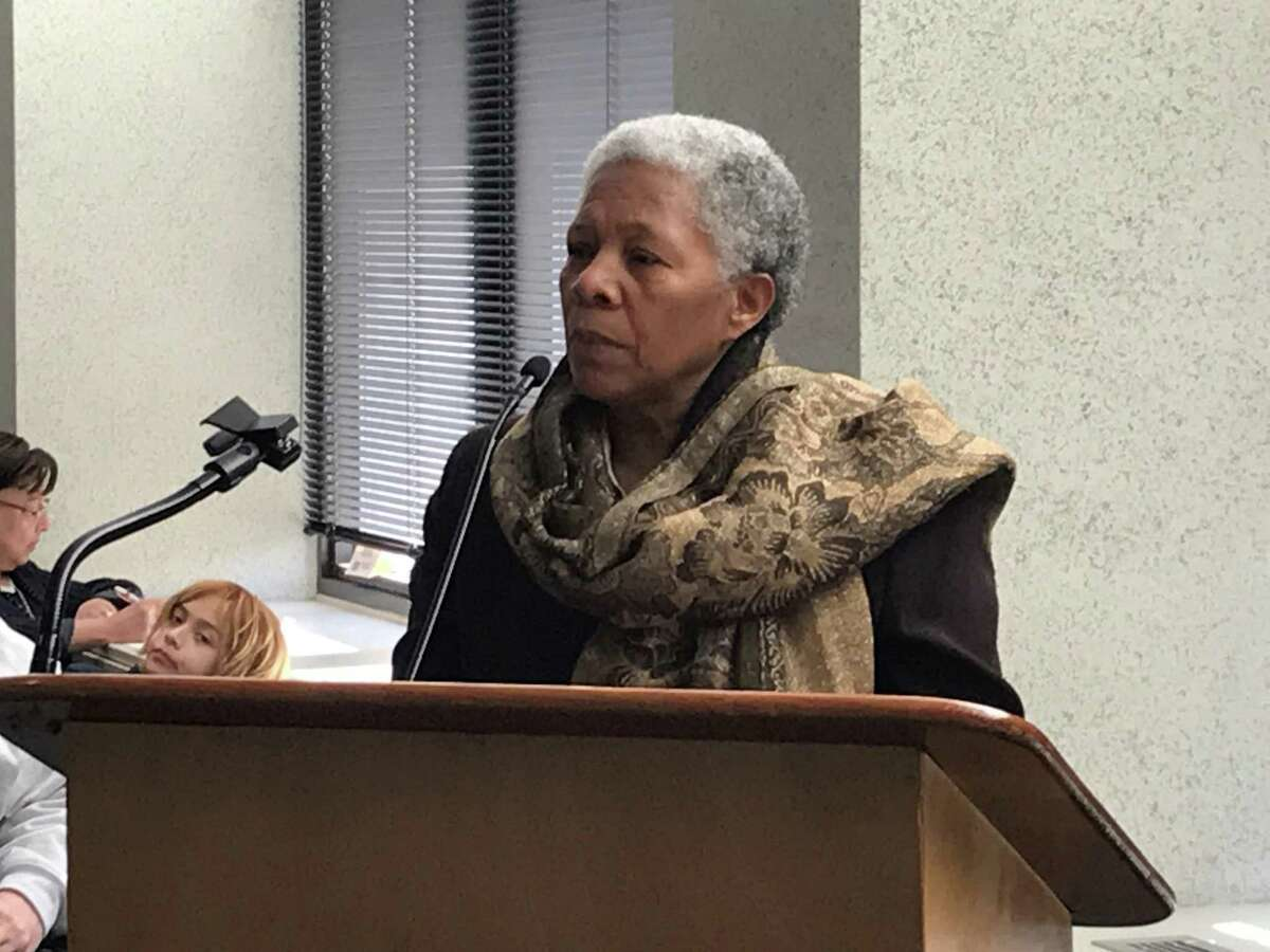 New Haven interim Superintendent of Schools Iline Tracey on March 2, 2020.