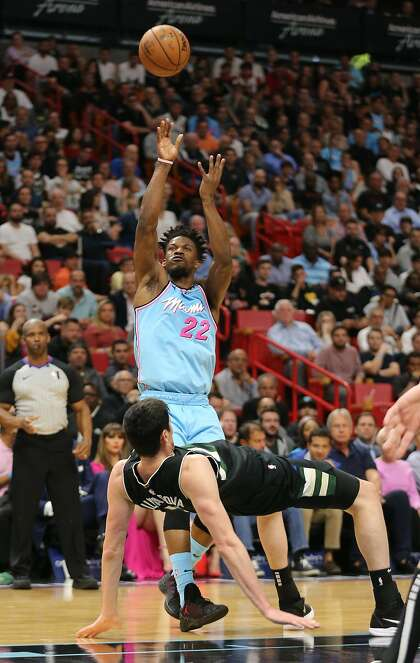 Heat Defeat Bucks For Second Time This Season Sfchronicle Com