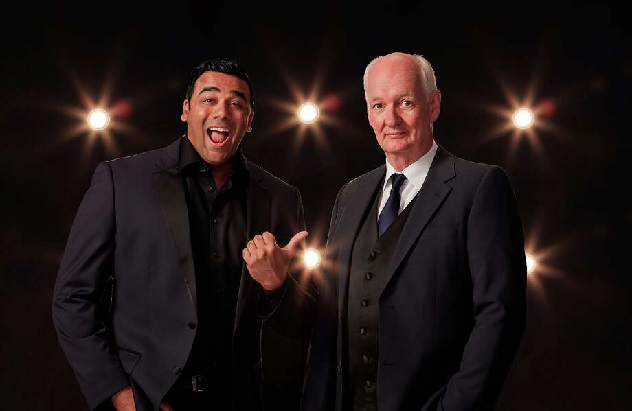 Hypnotist Asad Mecci and comedian Colin Mochrie's show Hyprov is coming to the State Theatre in Bay City on Saturday, March 7. (Photo provided/Hyprov)