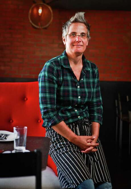 Pope at her former restaurant Sparrow Bar + Cookshop in 2013. Photo: Nick De La Torre,  Staff / Houston Chronicle / © 2013 Houston Chronicle