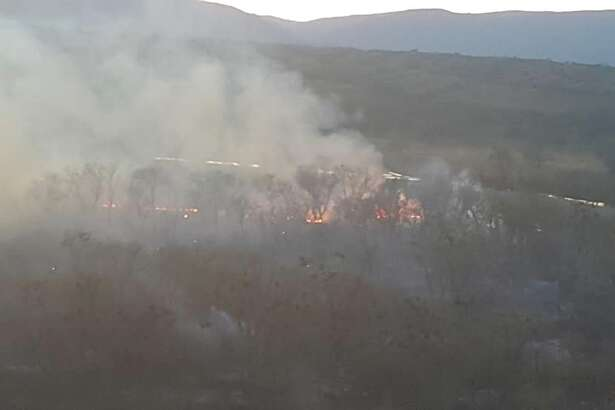 The Grizzle Fire is burning 100 miles north of Sacramento in Grizzly Flat Recreation Area near Black Butte Lake off Interstate 5.
