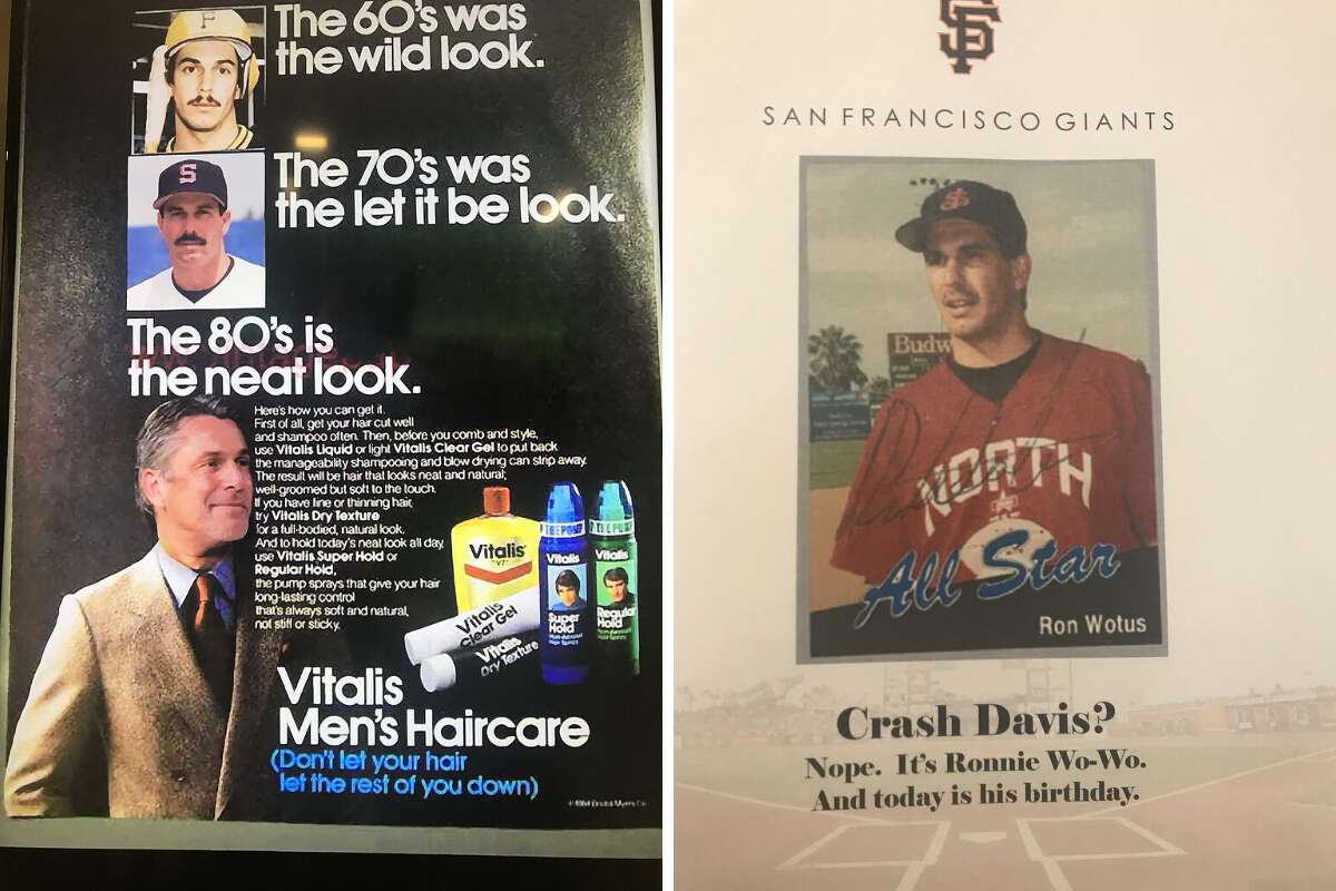 San Francisco Giants bench coach Kai Correa had some fun with third-base coach Ron Wotus on Tuesday with a series of old photos and Photoshopped ads peppered around the clubhouse on Wotus' 59th birthday.