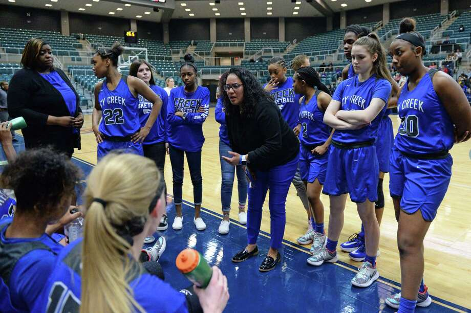 Cy Creek is scheduled to face Region II champion McKinney in the first Class 6A state semifinal, March 6 at 7 p.m., at the Alamodome in San Antonio, after defeating Clear Springs in the Region III-6A championship, Feb. 29, at the Leonard Merrell Center. Photo: Craig Moseley, Houston Chronicle / Staff Photographer / ©2020 Houston Chronicle