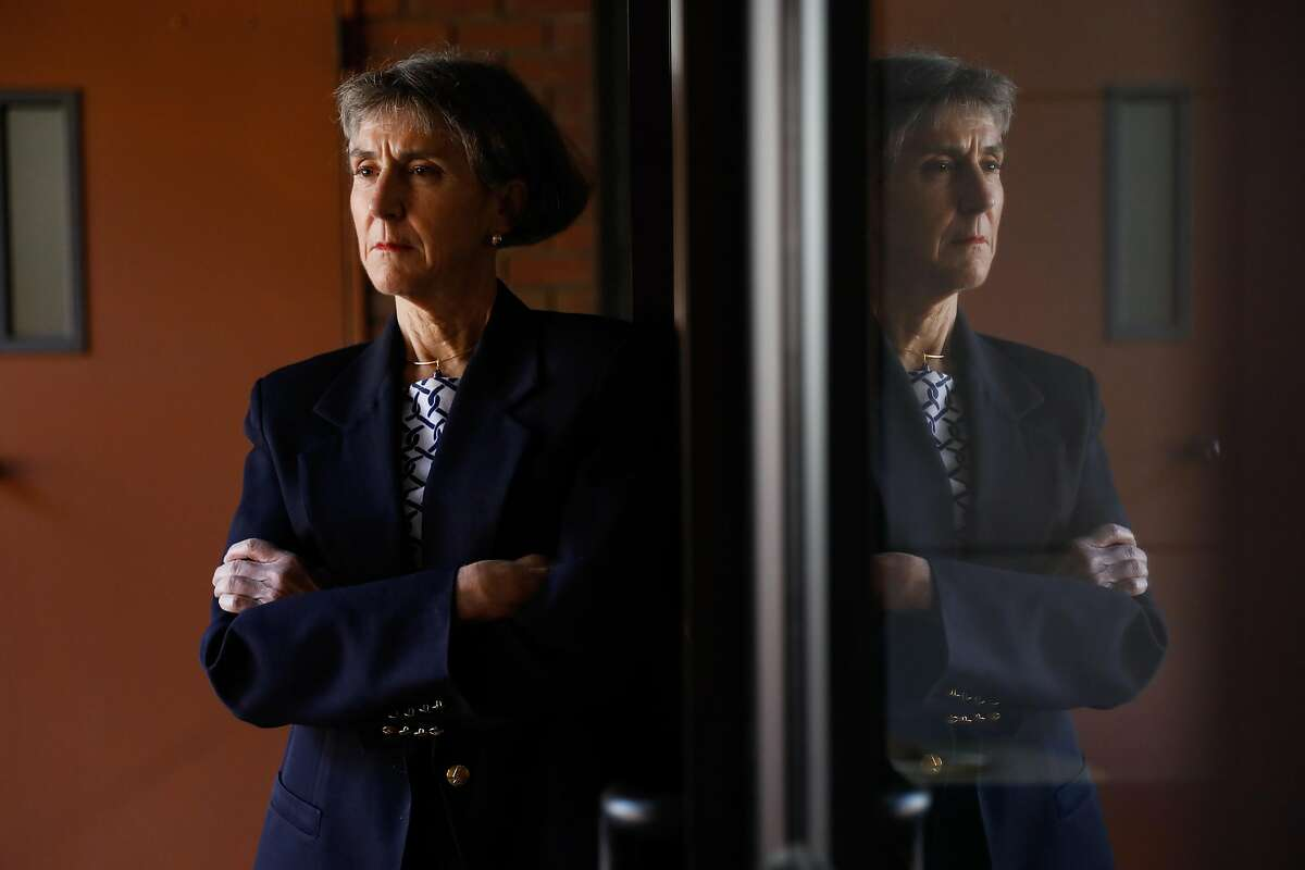 Former Oakland Police Chief Anne Kirkpatrick poses for a portrait on Monday, Feb. 24, 2020 in San Francisco, California. Kirkpatrick was unceremoniously terminated by the agency's civilian watchdog group Thursday night. She said she plans to ask DOJ for an inquiry into the agency's 17-year oversight following the Oakland Riders scandal.