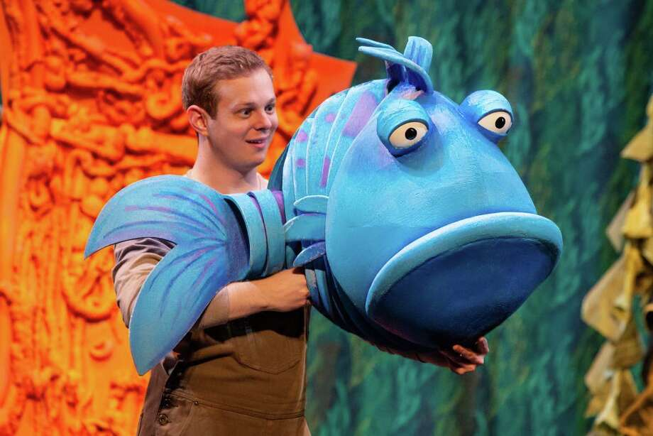 The Pout Pout Fish will be staged on March 15 at 1 and 4 p.m. at the Westport Country Playhouse, 25 Powers Court, Westport. Tickets are $20. For more information, visit westportplayhouse.org. Photo: Contributed Photo