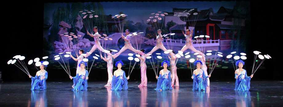 Acrobats of China's New Shanghai Circus will perform on March 8 at 4 p.m. at the Ridgefield Playhouse, 80 East Ridge Road, Ridgefield. Tickets are $35. For more information, visit ridgefieldplayhouse.org. Photo: Contributed Photo