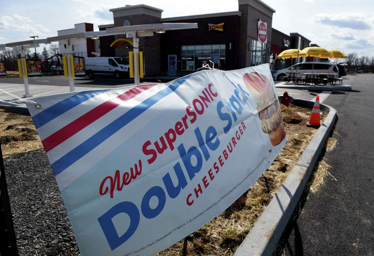 A new Albany Sonic Drive-In opened on Tuesday, March 3, 2020, at Mt. Hope Commons on Route 9W in Albany, N.Y. (Will Waldron/Times Union)